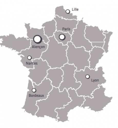 Visuel Carte France Organisation Iperia 2016